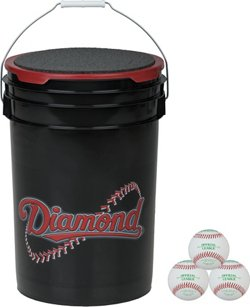 6-Gallon BB-OL Baseball Bucket
