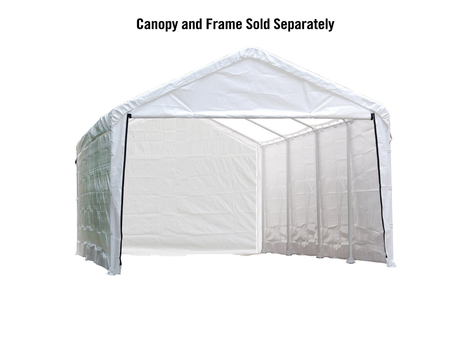 ShelterLogic 12' x 26' Canopy Enclosure Kit - view number 1