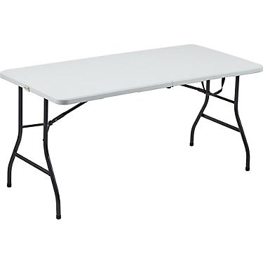 Tremendous Academy Sports Outdoors 5 Ft Half Folding Table Bralicious Painted Fabric Chair Ideas Braliciousco