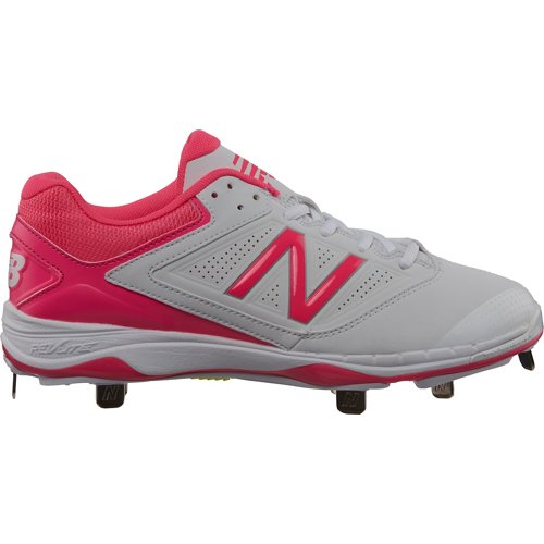New Balance Women's 4040v1 Low-Cut Metal Fast-Pitch Softball Cleats