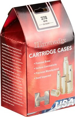 Hornady .270 Winchester Unprimed Cases