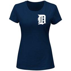 Majestic Women's Detroit Tigers Wordmark T-shirt