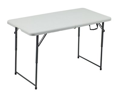 Ft Adjustable Folding Table Tables Hover Click To Enlarge