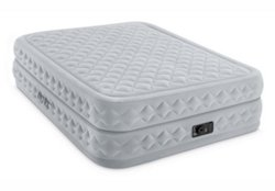 INTEX Dura-Beam Supreme Air-Flow Queen-Size Airbed with Built-In Pump