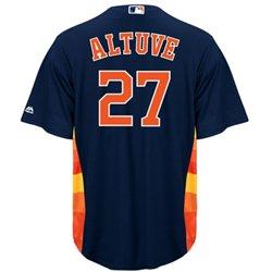 Majestic Men's Houston Astros José Altuve #27 Replica Jersey