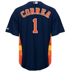 Men's Houston Astros Carlos Correa #1 Replica Jersey