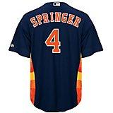 e3fdb5f04f5 Men's Houston Astros George Springer #4 Replica Jersey