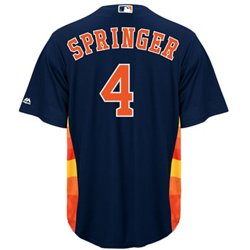 Men's Houston Astros George Springer #4 Replica Jersey