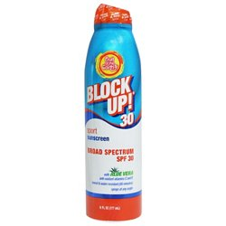 Fruit of the Earth Block Up! Sport SPF 30 Continuous Spray Sunscreen