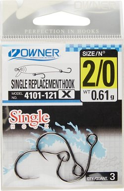 Owner X-Strong Single Replacement Hooks