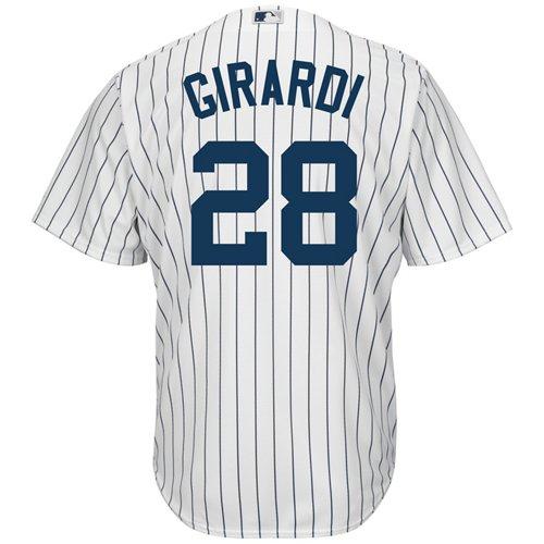 Majestic Men's New York Yankees Joe Girardi #28 Cool Base® Replica Jersey