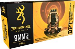9mm 147-Grain Ammunition