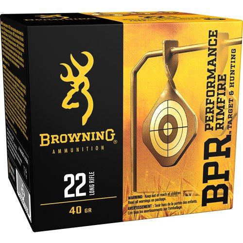 Browning Performance .22 LR 40-Grain Rimfire Ammunition