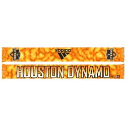 adidas Men's Houston Dynamo Sublimated Scarf