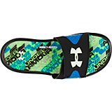 Under Armour Boys' Ignite Velocity IV Slides