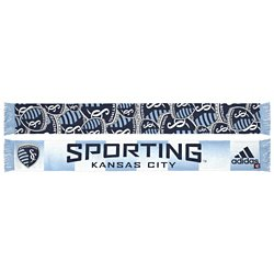 adidas™ Men's Sporting Kansas City Team Slogan Jacquard Scarf