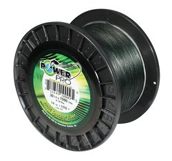 PowerPro 30 lb. - 1,500 yards Braided Fishing Line