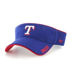 Men's Texas Rangers Top Rope Visor