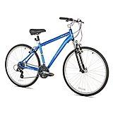 Giordano Men's G7 Medium 700c 21-Speed Hybrid Bicycle
