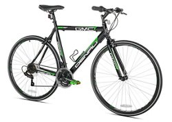 GMC Men's Denali Small Flat Bar 700c 21-Speed Road Bicycle