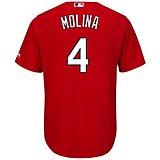 4c9caf74 Majestic Men's St. Louis Cardinals Yadier Molina #4 Replica Jersey