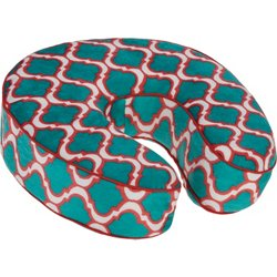 Piping Memory Foam Travel Pillow
