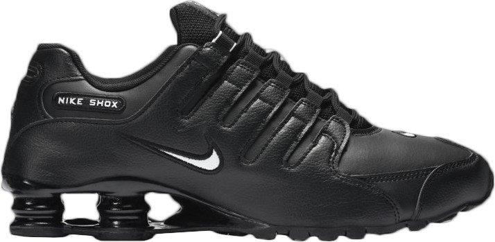73fabd97c7ee21 solid black nike shox discount women shoes