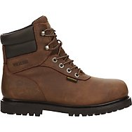 Lace Up Boots With Safety Toe