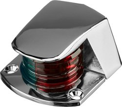 Marine Raider Chrome Zamak Bicolor Incandescent Bow Light