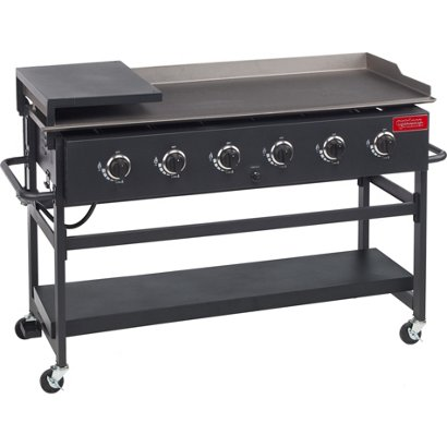 outdoor gourmet 6 burner gas griddle academy