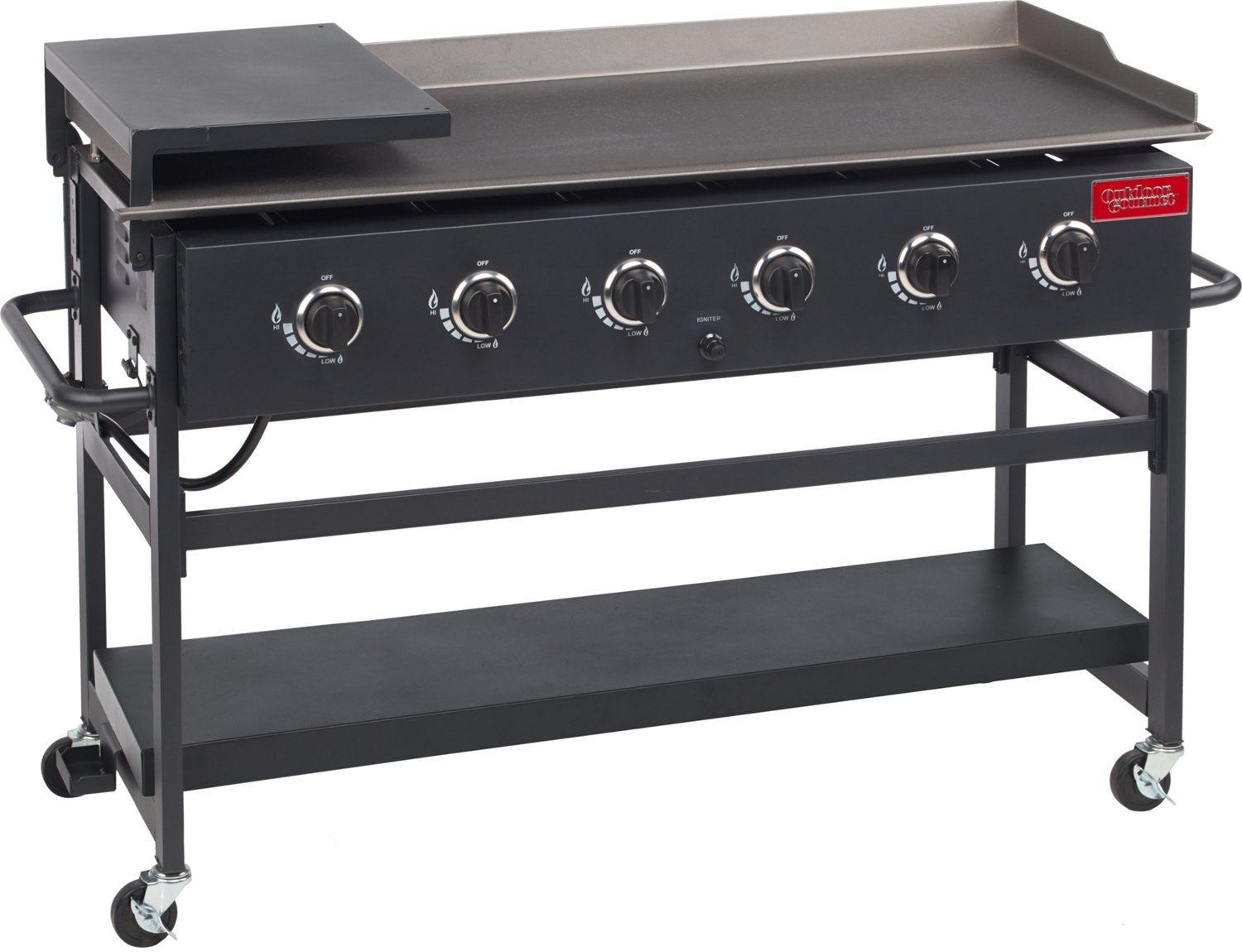 Outdoor Gourmet 6 Burner Gas Griddle