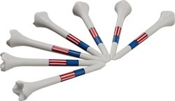 Pride Evolution USA Flag Golf Tees 30-Pack