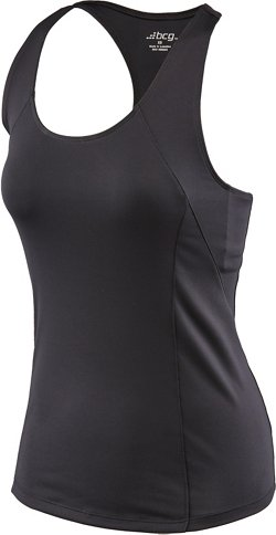 BCG Women's Poly Racer Tank Top