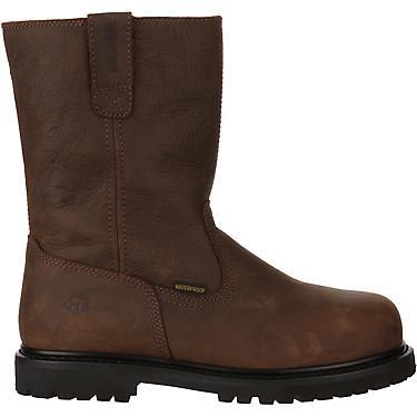 e8788479830 Wolverine Men's Iron Ridge II EH Steel Toe Wellington Work Boots