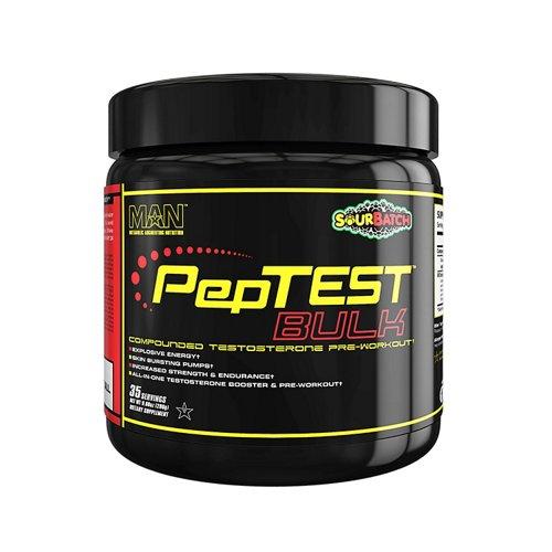 MAN Sports Peptest Bulk Pre-Workout Supplement