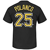 Majestic Men's Pittsburgh Pirates Gregory Polanco #25 T-shirt
