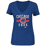 485f50f2e Majestic Women s Chicago Cubs One Game at a Time T-shirt