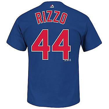 purchase cheap d7580 2d42b Majestic Men's Chicago Cubs Anthony Rizzo #44 T-shirt