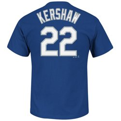 Majestic Men's Los Angeles Dodgers Clayton Kershaw #22 T-shirt