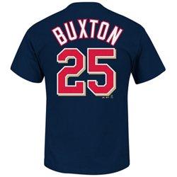 Majestic Men's Minnesota Twins Byron Buxton #25 T-shirt