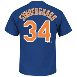 Majestic Men's New York Mets Noah Syndergaard #34 T-shirt