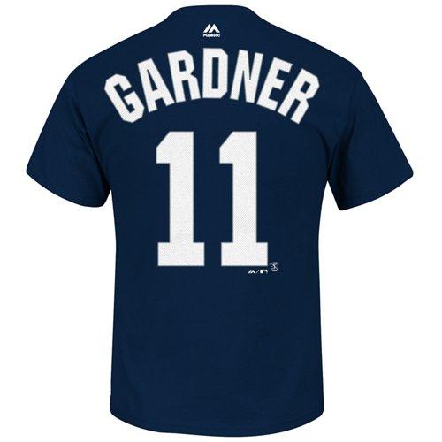 Majestic Men's New York Yankees Brett Gardner #11 T-shirt