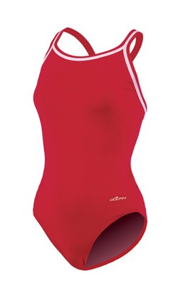 Dolfin Women's DBX Back Solid 1-Piece Swimsuit