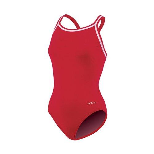 Dolfin Women's DBX Back Solid 1-Piece Swimsuit
