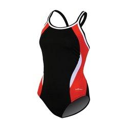Women's DBX Back Colorblock 1-Piece Swimsuit