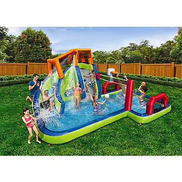 Water Parks | Inflatable Water Parks, Inflatable Pool Slides for