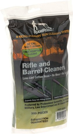 RamRodz .30/.308/7.62mm Barrel and Breech Cleaners 300-Pack