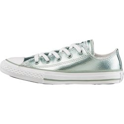 Girls' Chuck Taylor All Star Stingray Metallic Low-Top Shoes
