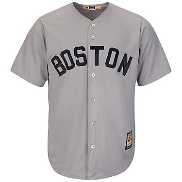 premium selection d2cd9 db4bb Majestic Men's Boston Red Sox Cooperstown Cool Base 1969 Replica Jersey