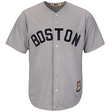 best website acc4a 10053 Majestic Men's Boston Red Sox Babe Ruth #3 Cooperstown Cool Base 1969  Replica Jersey